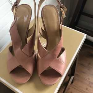 Michael Kors Salmon colored heels